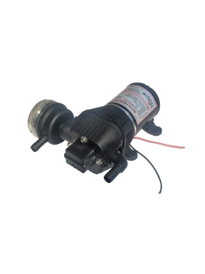Water pressure pump with automatic shut off, 12 Volt. Perfect in combination with one of our instantaneous water heaters.
