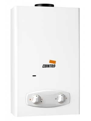 Cointra Optima COB-14p propane instantaneous water heater. 14 liter per minute hot water. A real powerhouse with almost 24 kW.